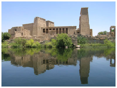 The Temple of Philae on Agilika Island