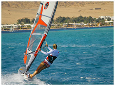 Enjoy Windsurfing and other exciting water sports
